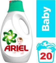 Detergent Lichid Ariel Baby 1.3L Detergent si balsam rufe