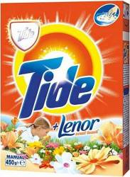 Detergent Manual Tide 2in1 Lenor Touch 450g Detergent si balsam rufe