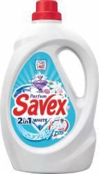Detergent de rufe Savex Powerzyme 2in1 White 2.6L Detergent si balsam rufe
