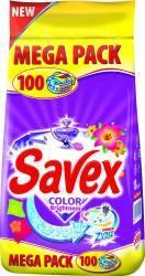 Detergent de rufe Savex Powerzyme Color Brightness 10kg Detergent si balsam rufe