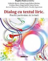 Dialog cu textul liric - Bogdan Ratiu