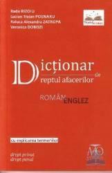 Dictionar de dreptul afacerilor roman-englez - Radu Rizoiu Lucian Traian Poenaru