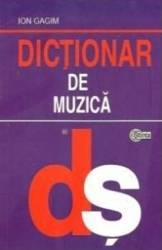 Dictionar de muzica - Ion Gagim