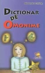 Dictionar de omonime - Alexandru Emil M.