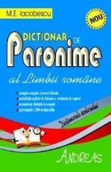 Dictionar de paronime al limbii romane - M.E. Iocobescu