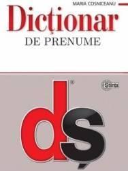 Dictionar de prenume - Maria Cosniceanu