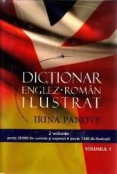 Dictionar Englez-Roman Ilustrat 1+2 - Irina Panovf