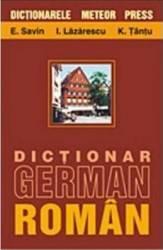 Dictionar german-roman - E.Savin I.Lazarescu K.Tantu Carti