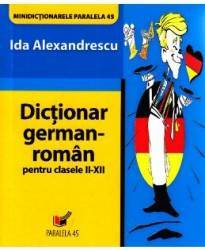 Dictionar german-roman cls II-XII - Ida Alexandrescu