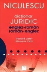 Dictionar juridic englez roman roman englez - Ronald Lister Klemens Veth