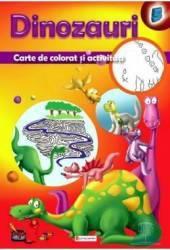 Dinozauri - Carte de colorat si activitati