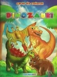 Dinozauri A5 - Carte de colorat
