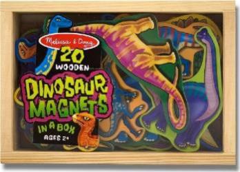 Dinozauri din lemn cu magneti Melissa and Doug Jucarii