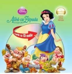 Disney - Alba-Ca-Zapada format mic + Cd Audio Lectura Stela Popescu