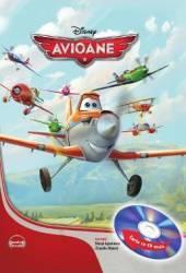 Disney - Avioane Carte+CD Format mare Lectura Claudiu Maier