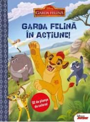 Disney - Garda felina in actiune 32 de planse de colorat
