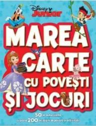 Disney - Marea carte cu povesti si jocuri