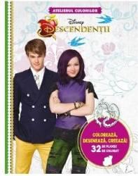 Disney Descendentii - Atelierul culorilor