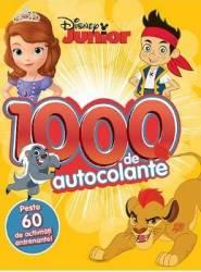 Disney Junior - 1000 de autocolante. Peste 60 de activitati antrenante