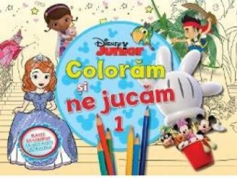 Disney Junior Coloram Si Ne Jucam 1 Planse De Colorat Cu Activitati Distractive