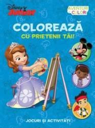 Disney Junior - Coloreaza cu prietenii tai Jocuri si activitati
