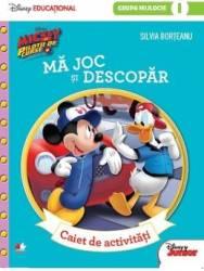 Disney Mickey Si Pilotii De Curse - Ma Joc Si Descopar - Caiet De Activitati Grupa Mijlocie - Silvia