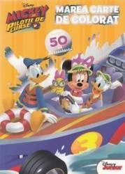 Disney. Mickey si pilotii de curse. Marea carte de colorat. Peste 50 de autocolante