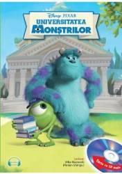 Disney Pixar - Universitatea Monstrilor + CD Lectura Florian Ghimpu