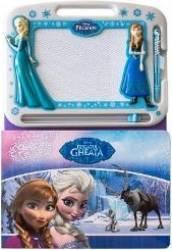 Disney Regatul De Gheata - Contine Tablita Magneti
