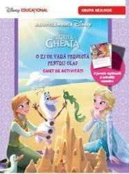 Disney Regatul De Gheata - O Zi De Vara Perfecta Pentru Olaf - Caiet De Activitati Grupa Mijlocie
