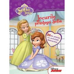 Disney Junior Jocurile Printesei Sofia 24 De Planse De Activitati Distractive Sofia Intai