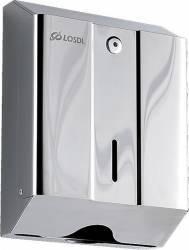 Dispenser prosoape hartie pliate Losdi V Oceano Inox Dispensere