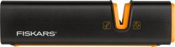 Dispozitiv pentru ascutit topoare si cutite Fiskars Xsharp Scule de gradina