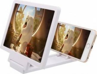 Dispozitiv pentru marirea imaginii telefonului alb