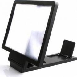 Dispozitiv pentru marirea imaginii telefonului mobil Gri Accesorii Diverse Telefoane