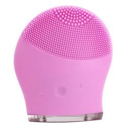 Dispozitiv de curatare a tenului reincarcabil rezistent la apa roz 9000 oscilatiiminut Accesorii Cosmetice