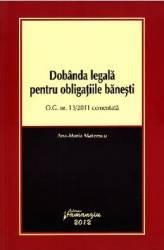 Dobanda legala pentru obligatiile banesti - Ana-Maria Mateescu