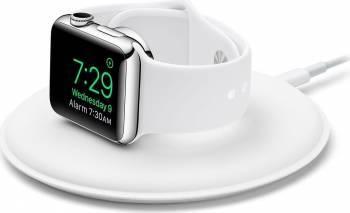 Dock de incarcare Apple Watch Alb Accesorii Smartwatch