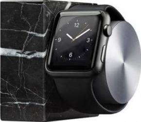 Dock Native Union Luxury Tech Marble Pentru Apple Watch Accesorii Smartwatch