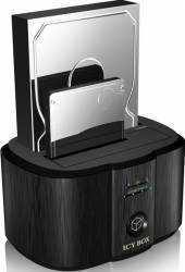 Docking station RaidSonic Icy Box IB-124CL-U3 2x 2.5 inch 3.5inch neagra