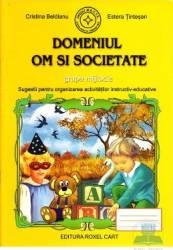 Domeniul om si societate grupa mijlocie - Cristina Beldianu Estera Tintesan Carti