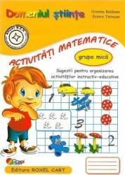 Domeniul stiinte Activitati matematice grupa mica - Cristina Beldianu Estera Tintesan