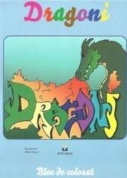Dragoni - Bloc de colorat