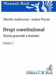 Drept Constitutional. Teoria Generala A Statului E