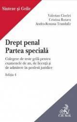Drept penal. Partea speciala Ed.4 - Valerian Cioclei Cristina Rotaru