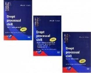 Drept procesual civil vol. I+II+III - Mihaela Tabarca