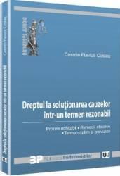 Dreptul La Solutionarea Cauzelor Intr-Un Termen Rezonabil - Cosmin Flavius Costas