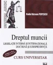 Dreptul muncii - Radu Razvan Popescu Carti