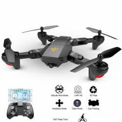 Drona Visuo XS809WH Camera 2Mp cu transmisie pe telefon altitudine automata brate pliabile Drone