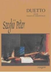 Duetto Pour Violon Et Violoncelle - Szegho Peter